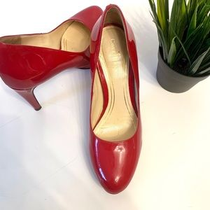 Cole Haan Red Patent Leather Nike Air Technology